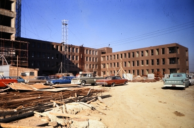 Construction of George Eastman Hall