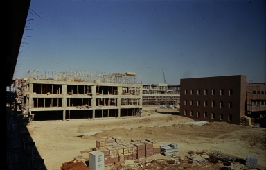 Construction on Henrietta campus