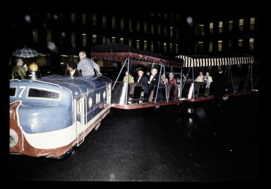 Henrietta campus dedication weekend tour train