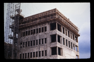 Eastman tower construction