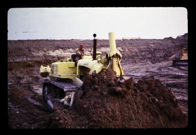 Bulldozer operator