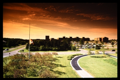 Henrietta campus at sunrise