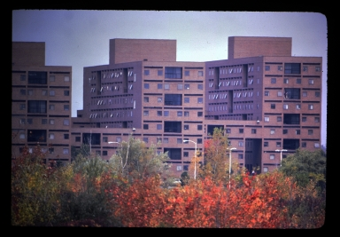 Three high rise dorms