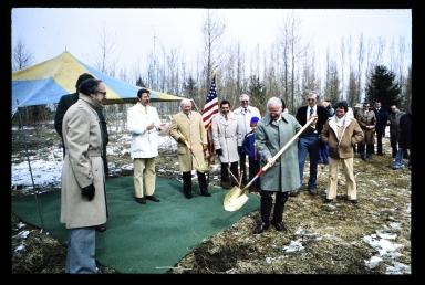 Ground breaking ceremony