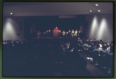 Commencement speaker address