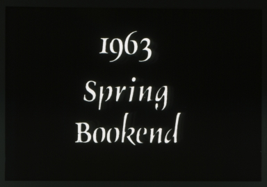1963 Spring Bookend