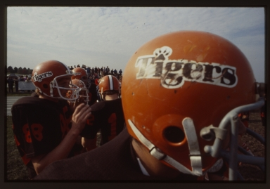 RIT Tigers football helmet