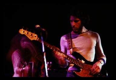 Guitar players perform