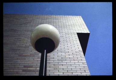 Lamp on campus