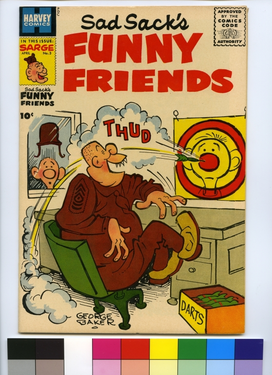 Sad Sack's Funny Friends