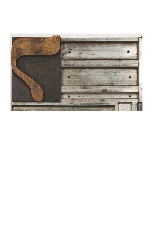 Hebrew Wood Type, 25 line