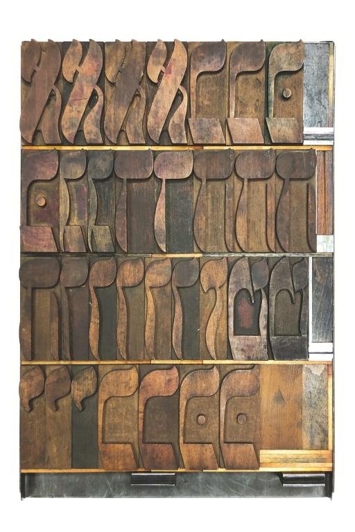 Hebrew Wood Type, 24 line