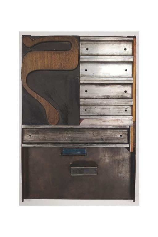Hebrew Wood Type, 41 line