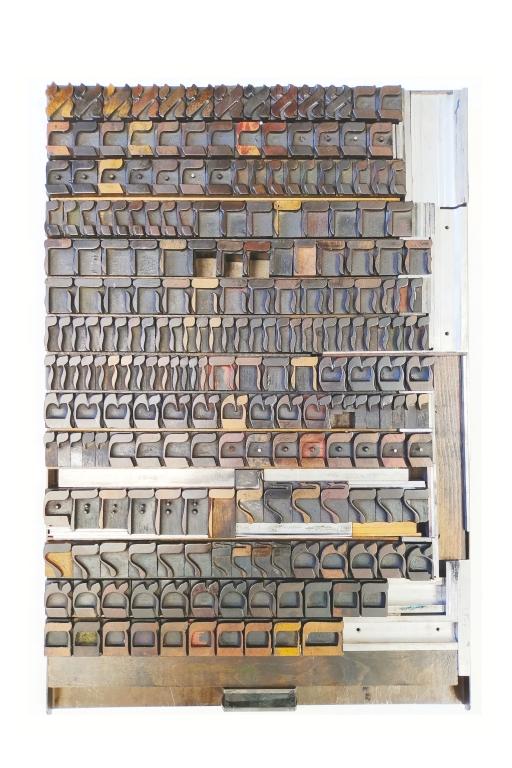Hebrew Wood Type, 6 line