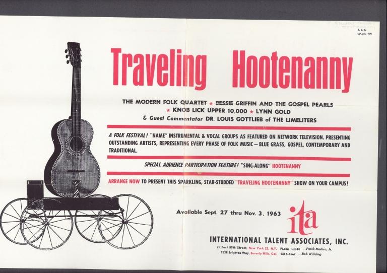 Hootenanny advertisement