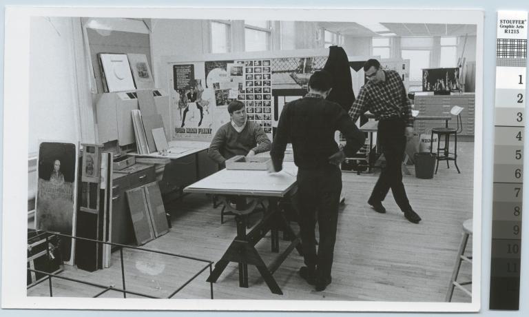 Communications design studio, City Center, Rochester Institute of Technology