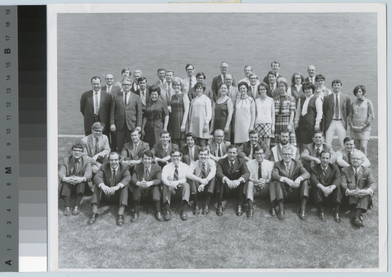 Group portrait, faculty and staff, National Technical Institute for the Deaf