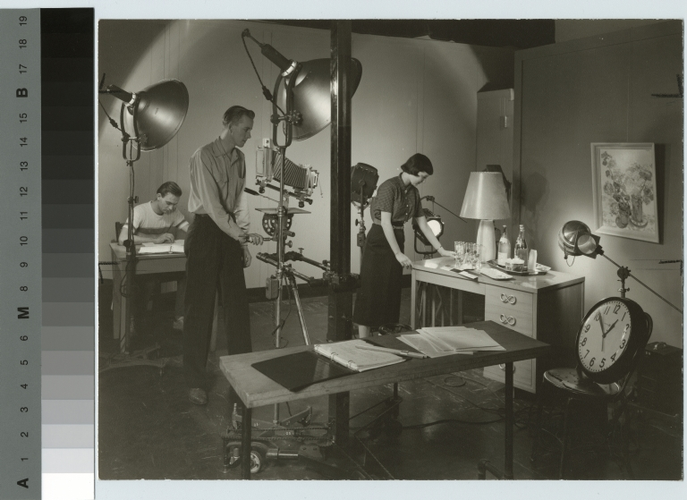 Unidentified students, Department of Photographic Technology, Rochester Institute of Technology