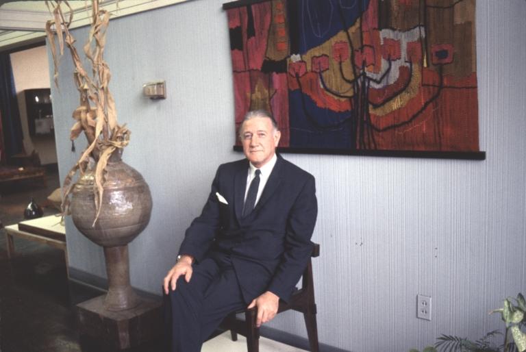 Harold Brennan at Art Exhibit #2
