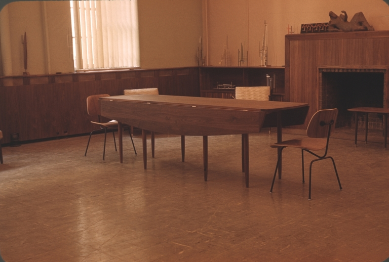 Long Drop Leaf Table and Chairs #1