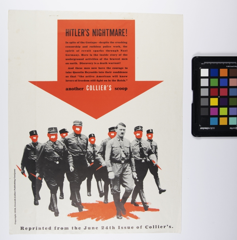 """Another Collier's Scoop - Reprinted from June 24th issue of Collier's. """"Hitler's Nighmare"""""""