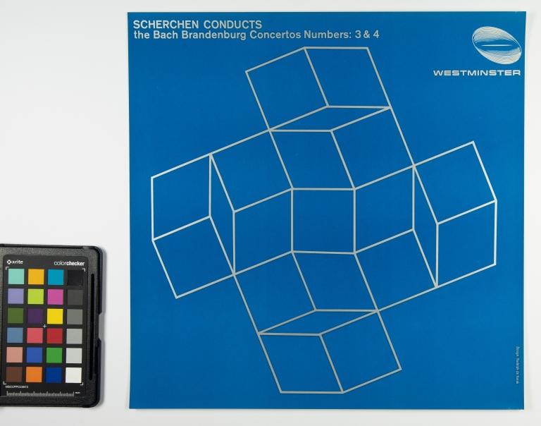 Scherchen Conducts: The Bach Brandenburg Concertos Numbers 3 & 4