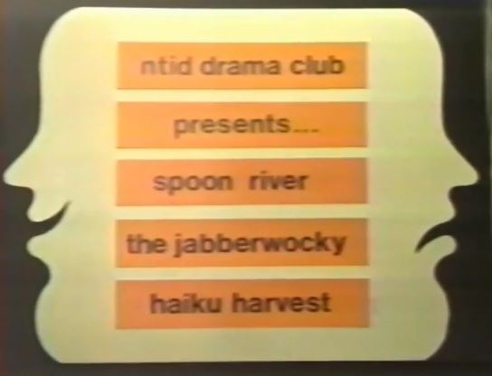Spoon River, Jabberwocky and Haiku poems