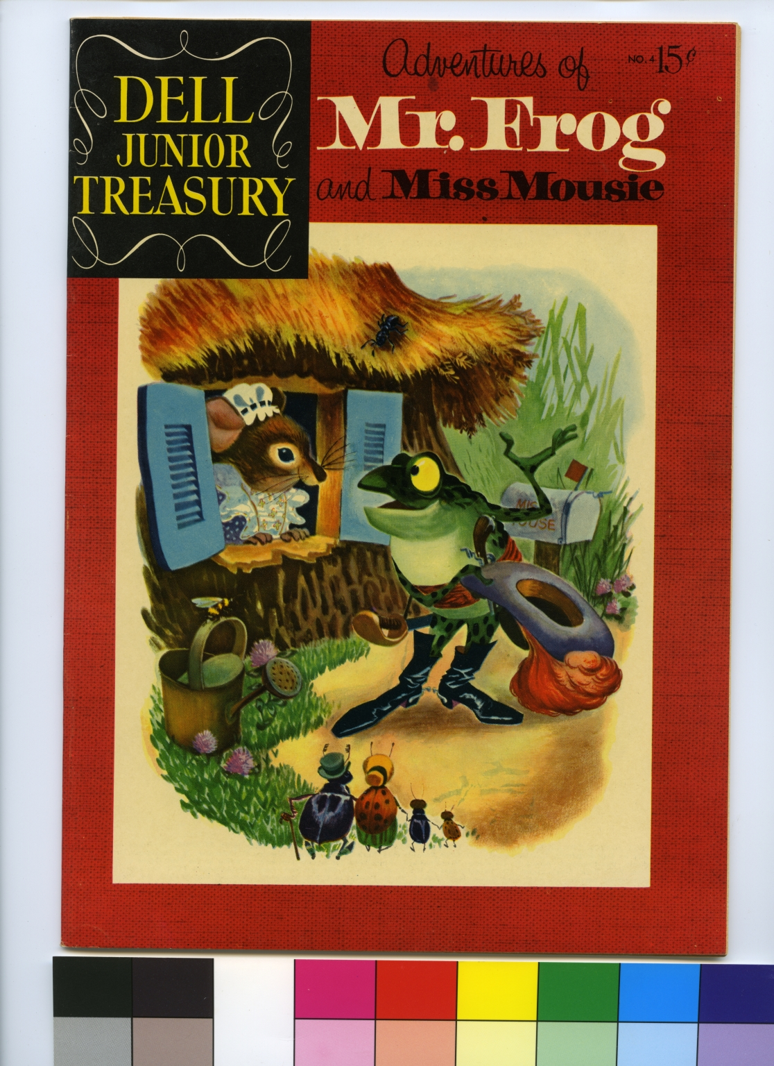 Dell Junior Treasury: Adventures of Mr. Frog and Miss Mousie
