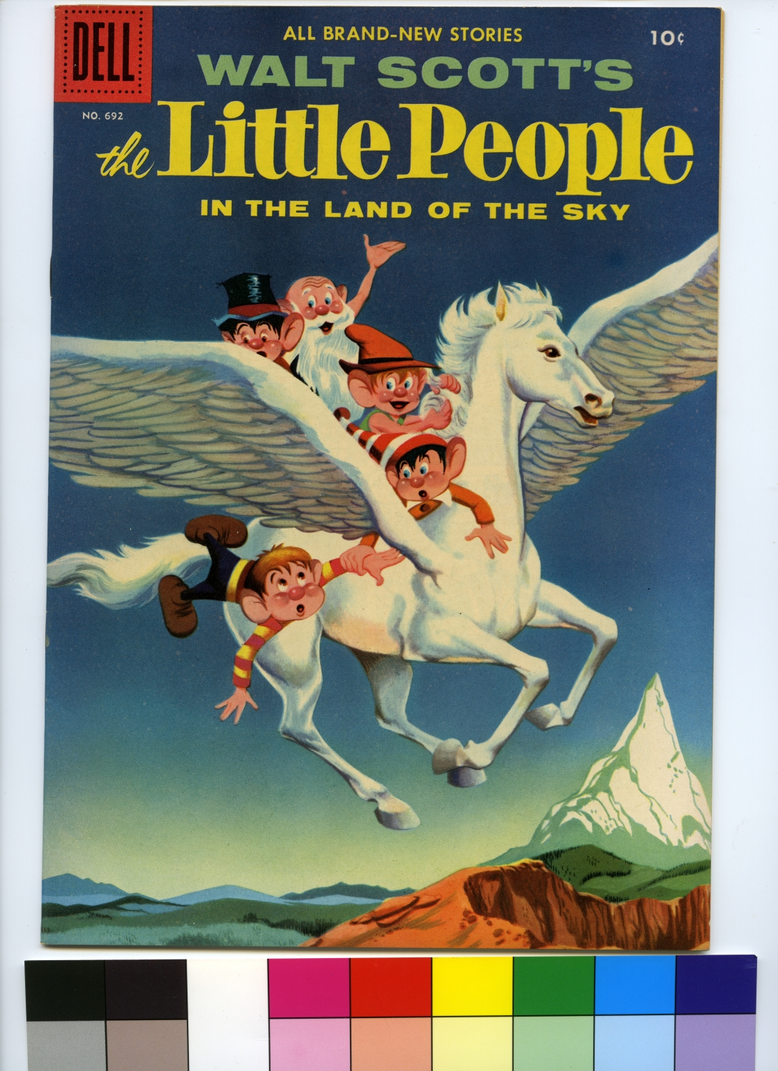Walt Scott's The Little People in the Land of the Sky