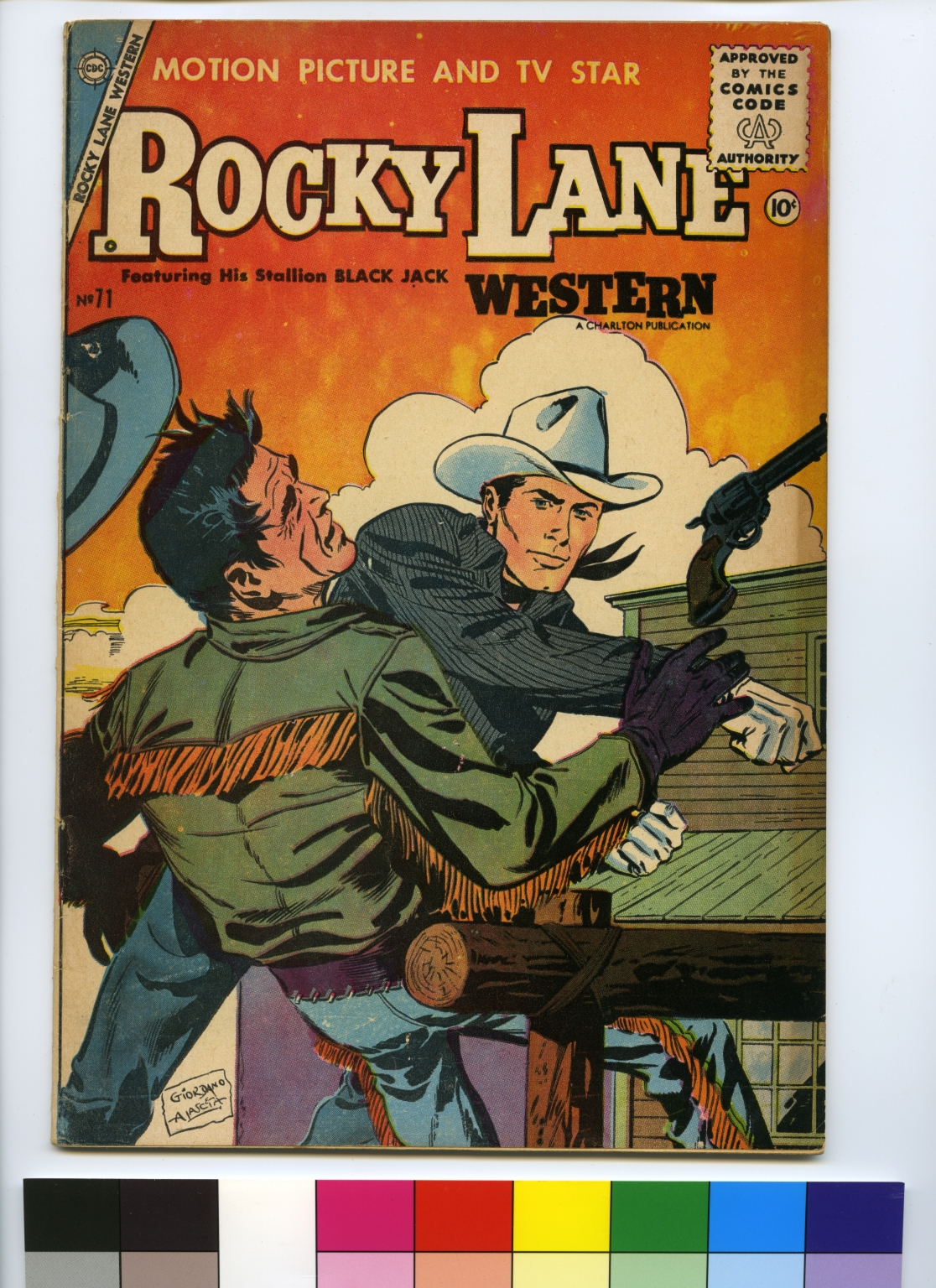 Rocky Lane Western