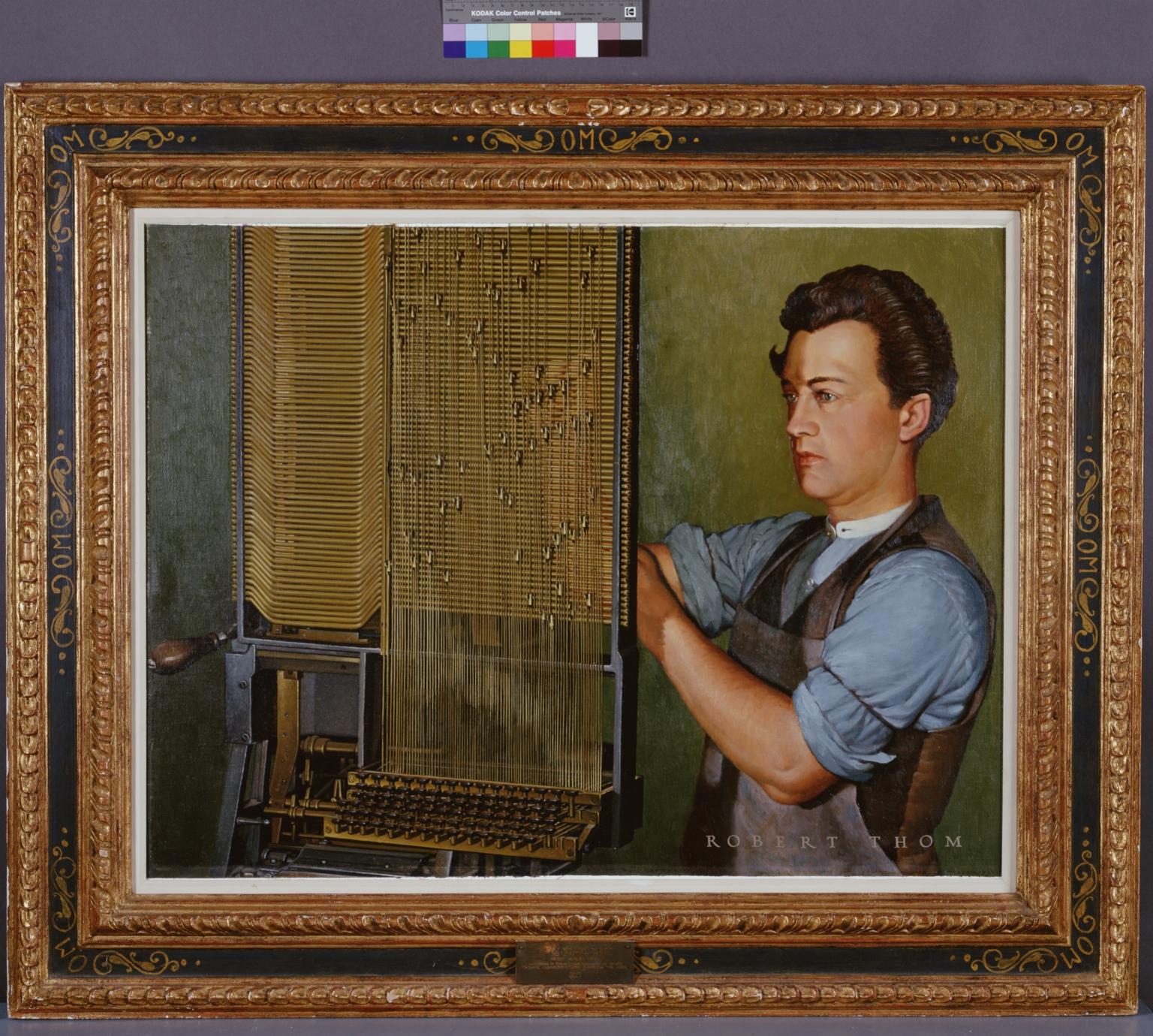 Ottmar Mergenthaler and the Linotype
