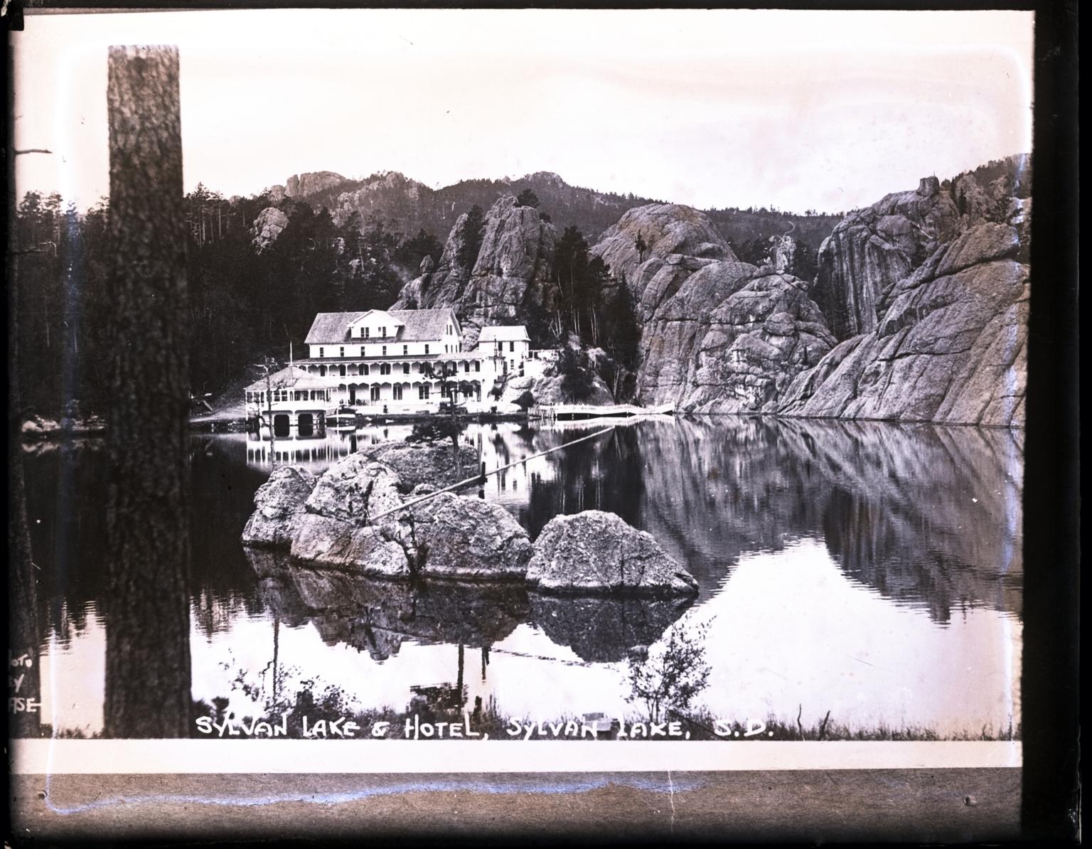 Black Hills National Forest Sylvan Lake and Hotel