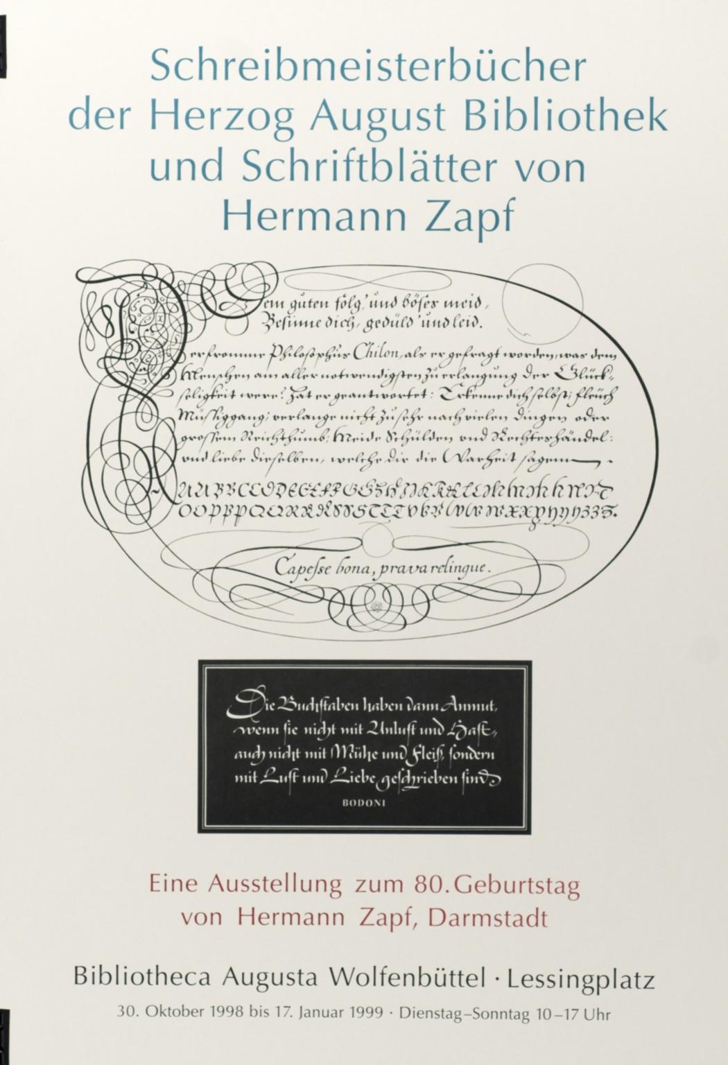 Schreibermeisterbücher...