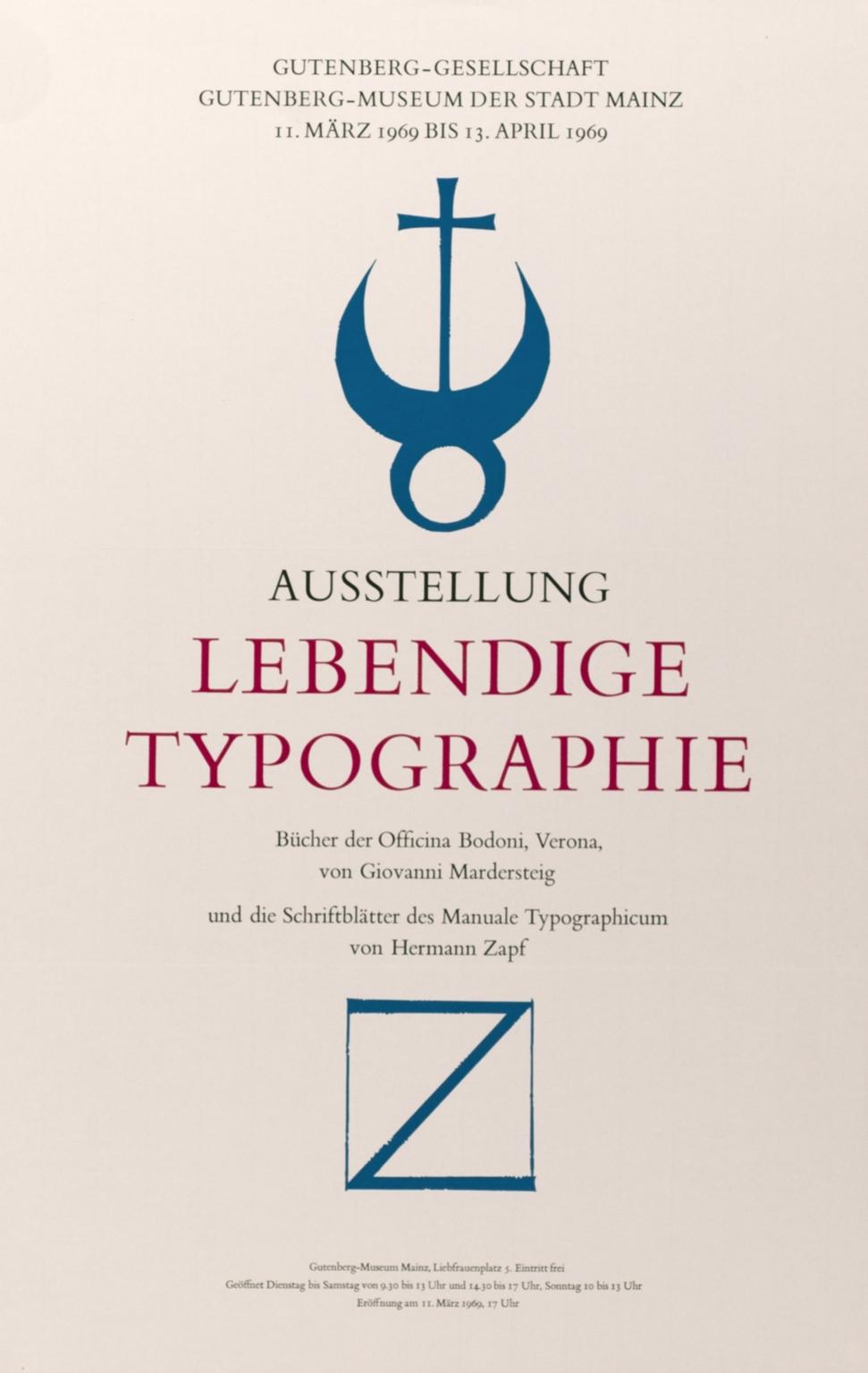 Austellung Lebendige Typographie