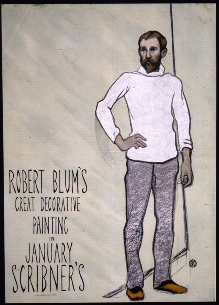 Robert Blum's great decorative painting : in January Scribner's