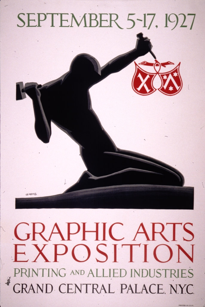 Graphic Arts Exposition : September 5-17, 1927 : printing and allied industries, Grand Central Palace, N.Y.C.