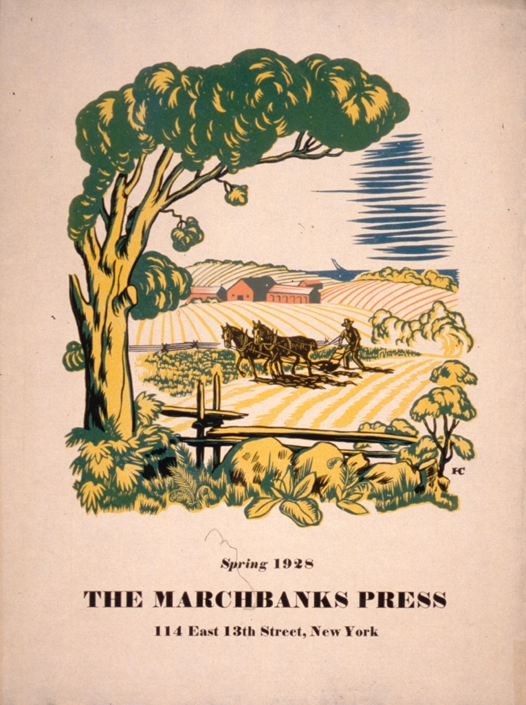 The Marchbanks Press : Spring 1928 : 4 East 13th Street, New York