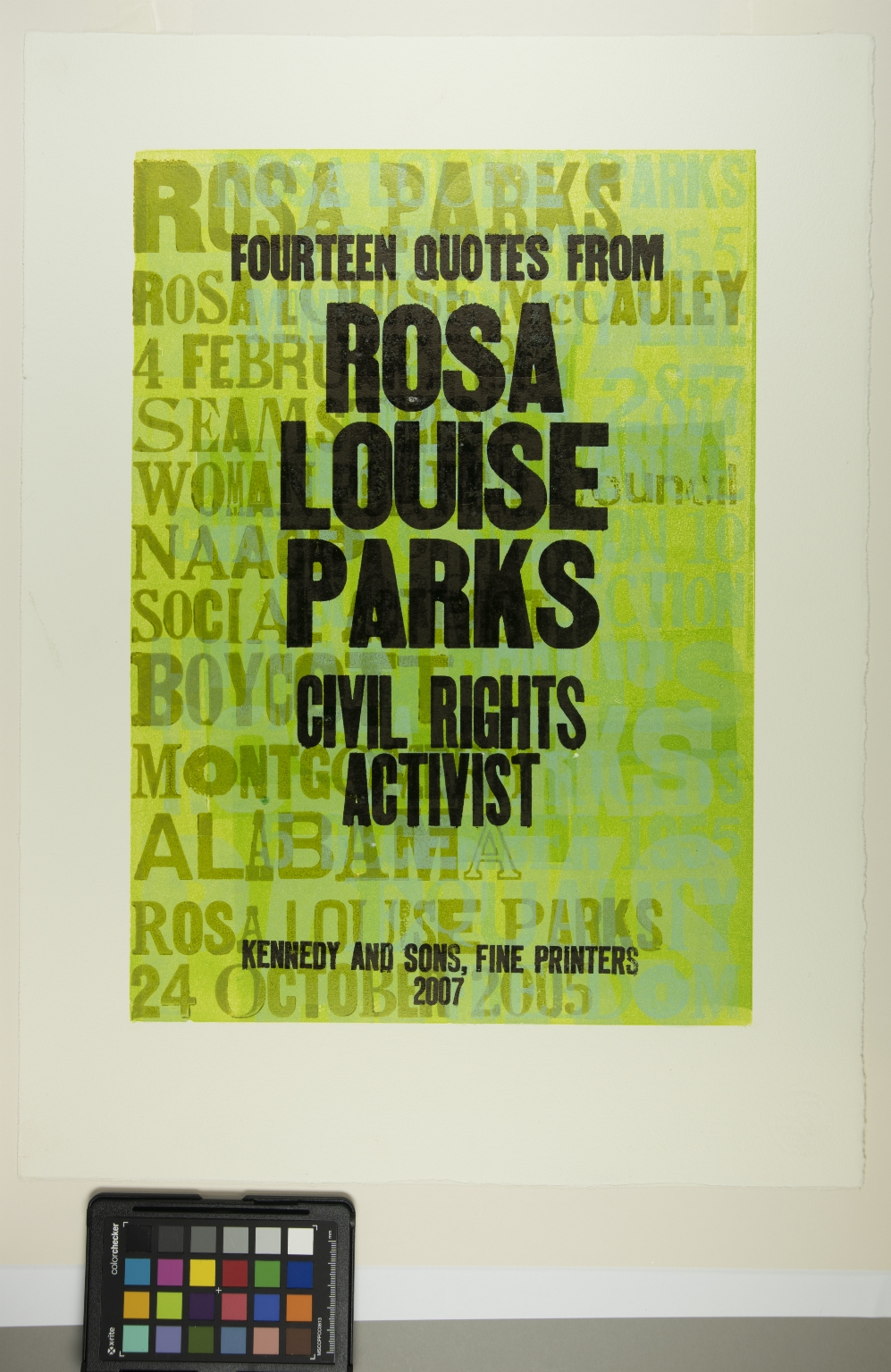 Fourteen Quotes from Rosa Louise Parks, Civil Rights Activist.