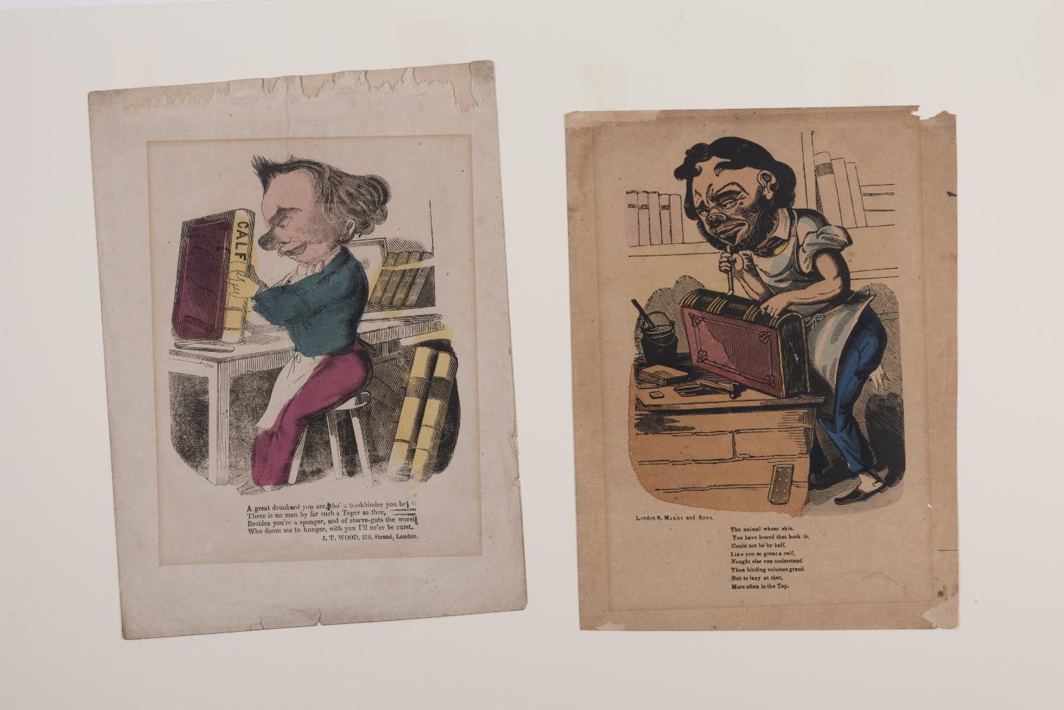 Caricatures of binders