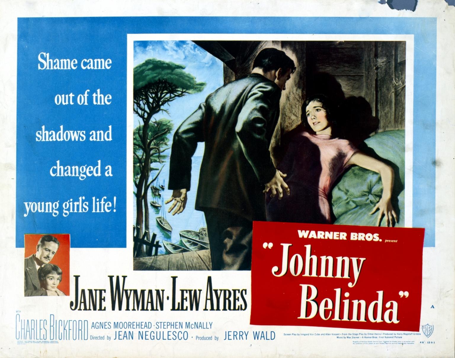 Johnny Belinda movie poster