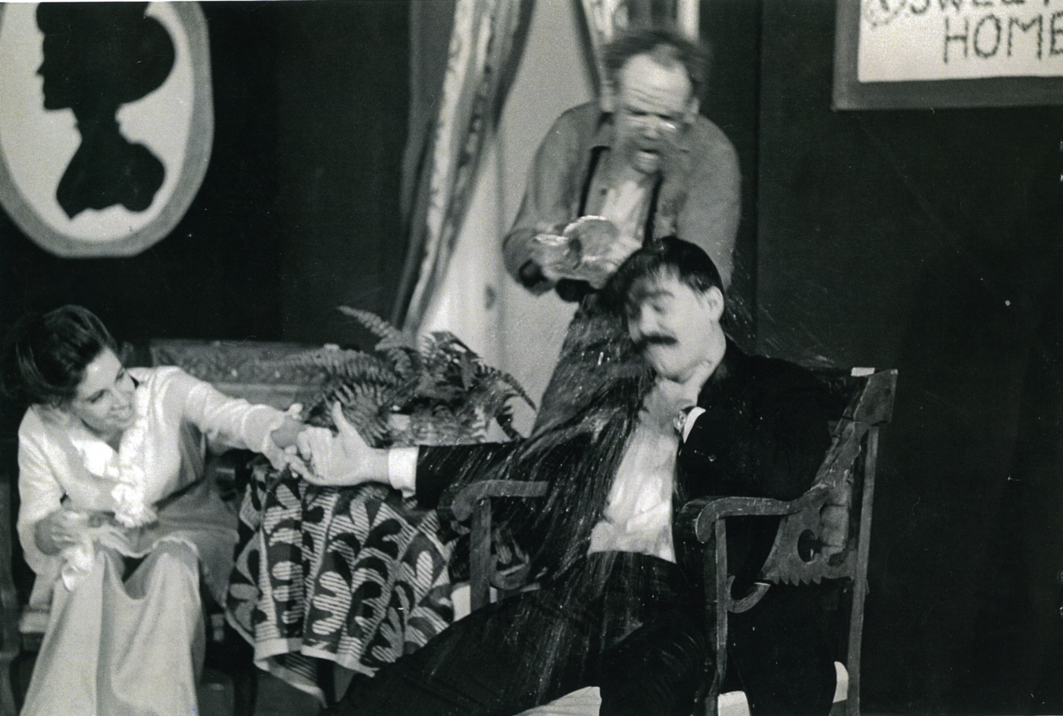 Nolan onstage in The Marriage Proposal 01