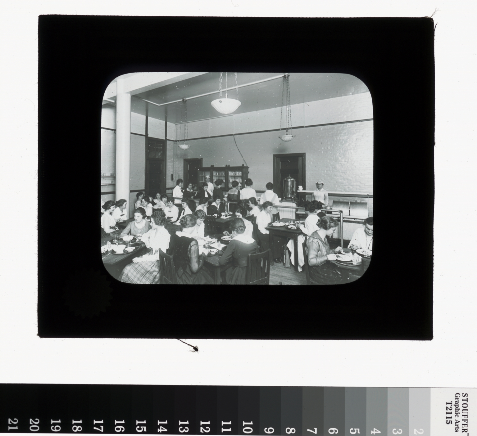 Cafeteria management class, Department of Household Arts and Science, Rochester Athenaeum and Mechanics Institute