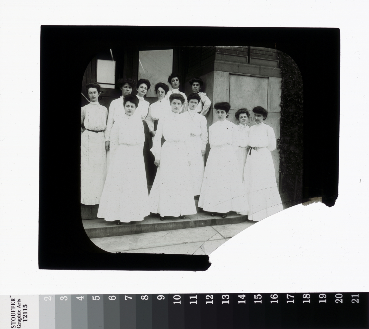 Group portrait, Domestic Science students, Rochester Athenaeum and Mechanics Institute