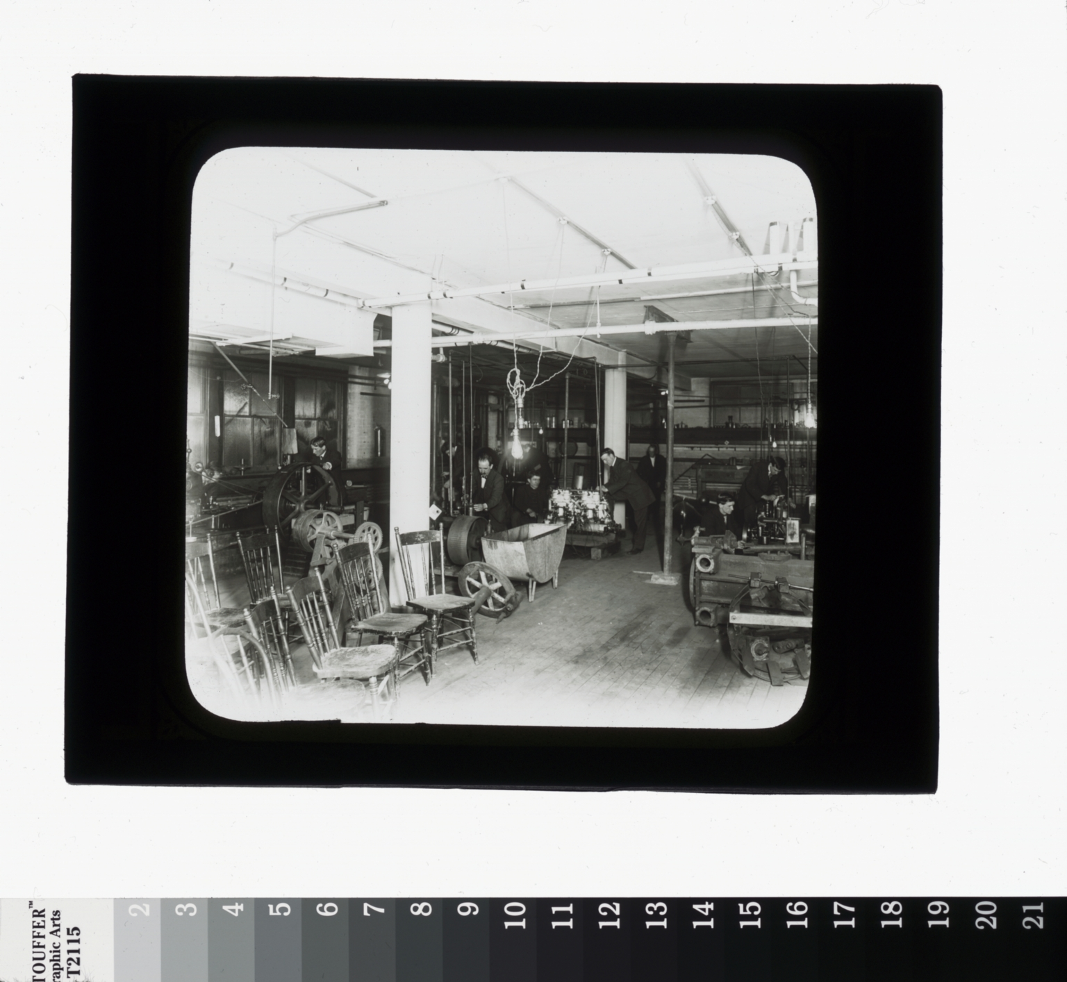 Woodworking shop, Department of Manual Training, Rochester Athenaeum and Mechanics Institute