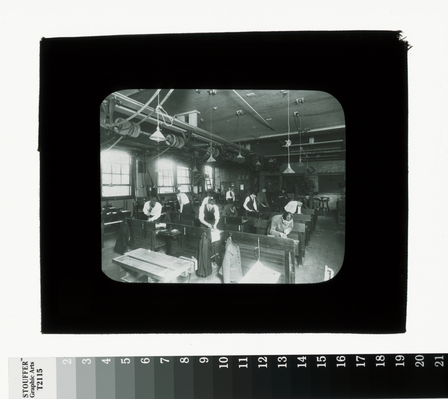 Woodworking class, Department of Manual Training, Rochester Athenaeum and Mechanics Institute