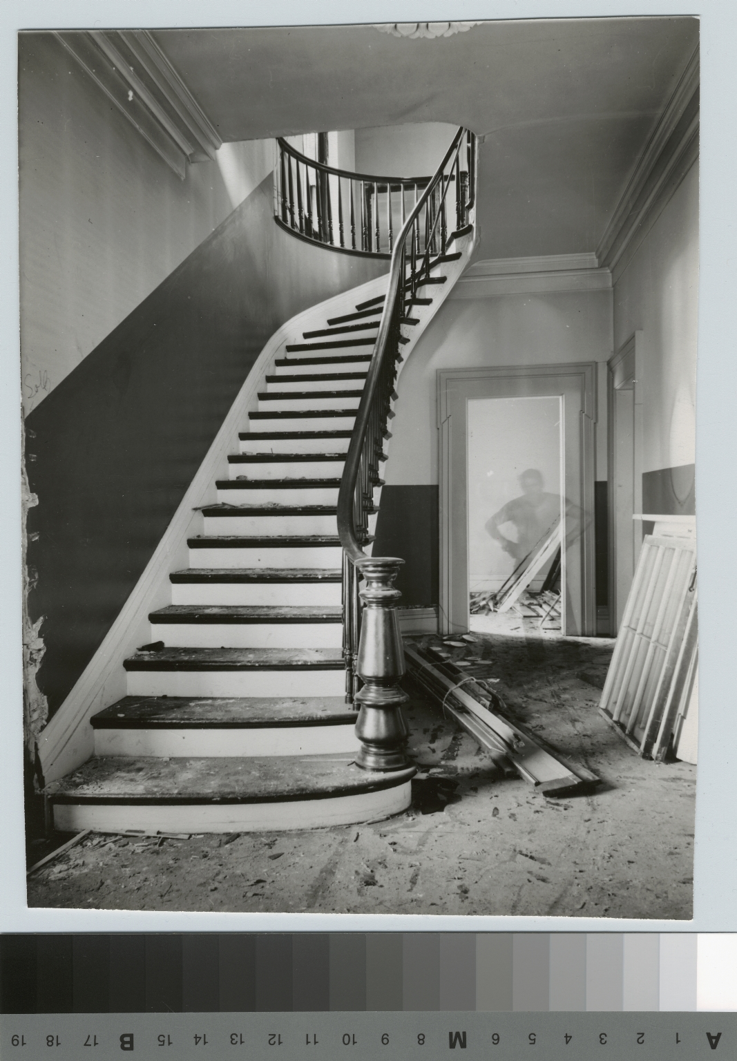 Stairway, Clark Union, Rochester Athenaeum and Mechanics Institute