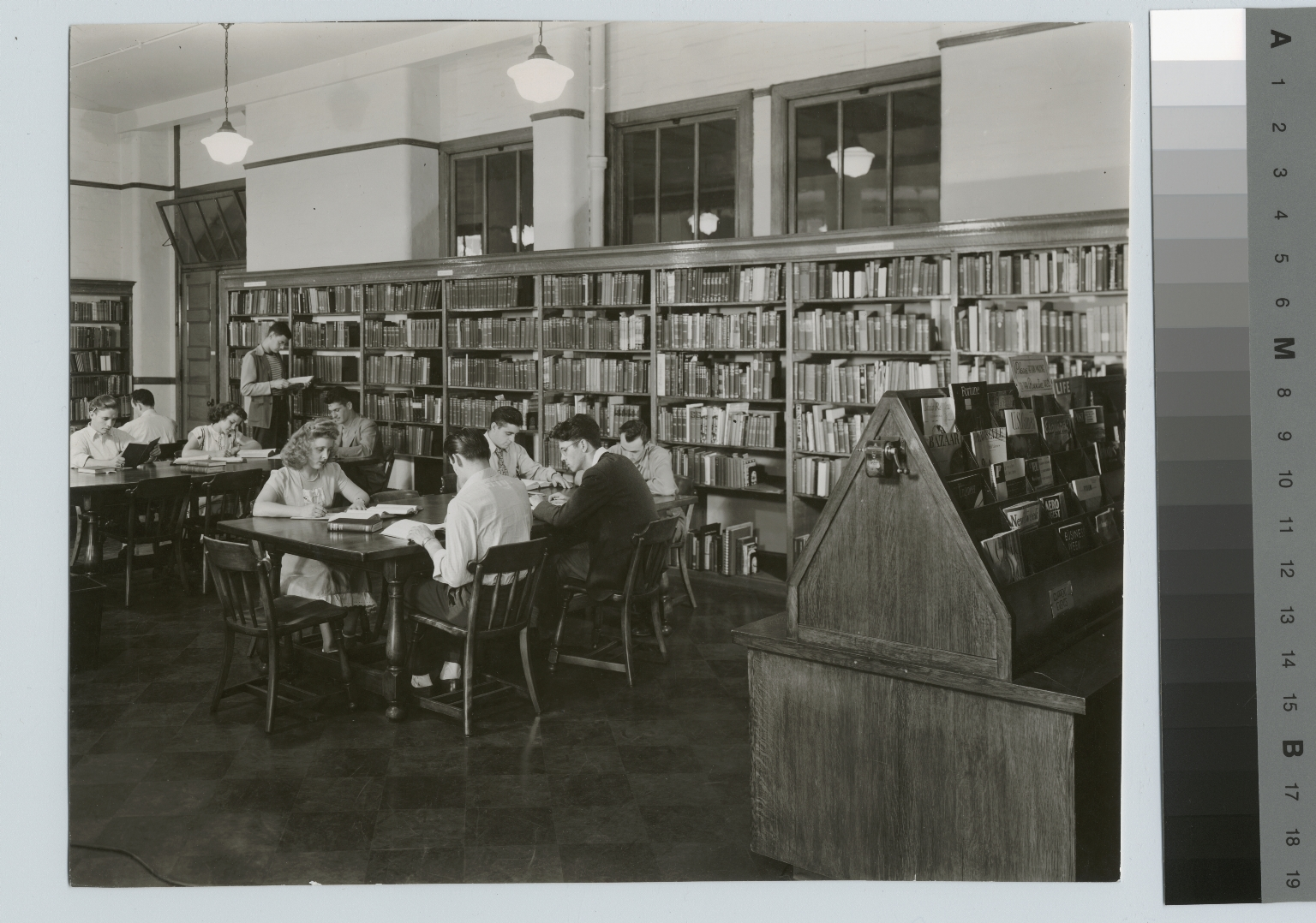 Library, Eastman Building, Rochester Institute of Technology