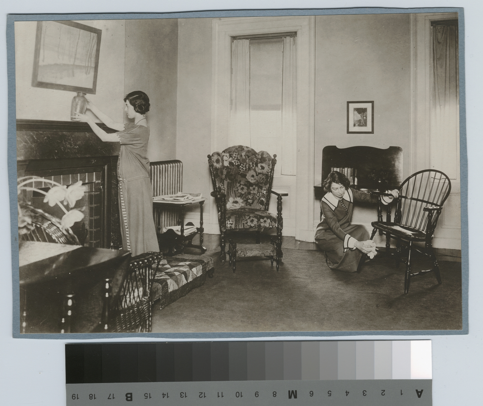 Living room, Practice House, Rochester Athenaeum and Mechanics Institute