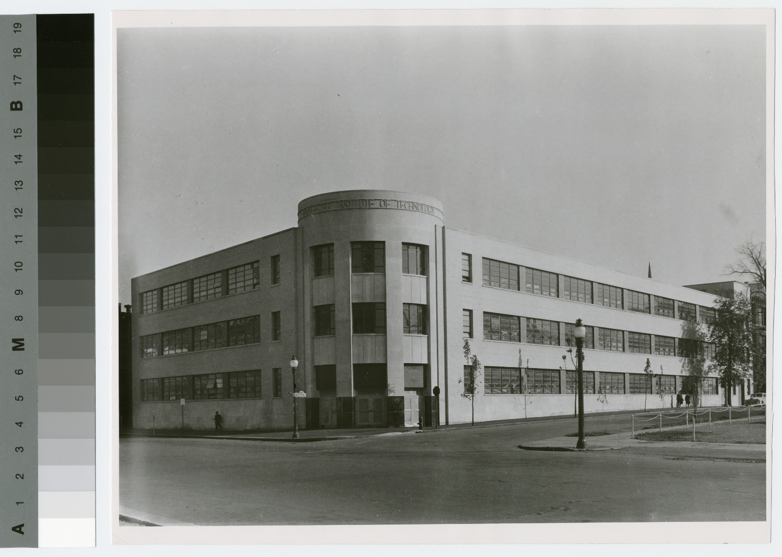 Exterior view, George H. Clark Building, Rochester Institute of Technology