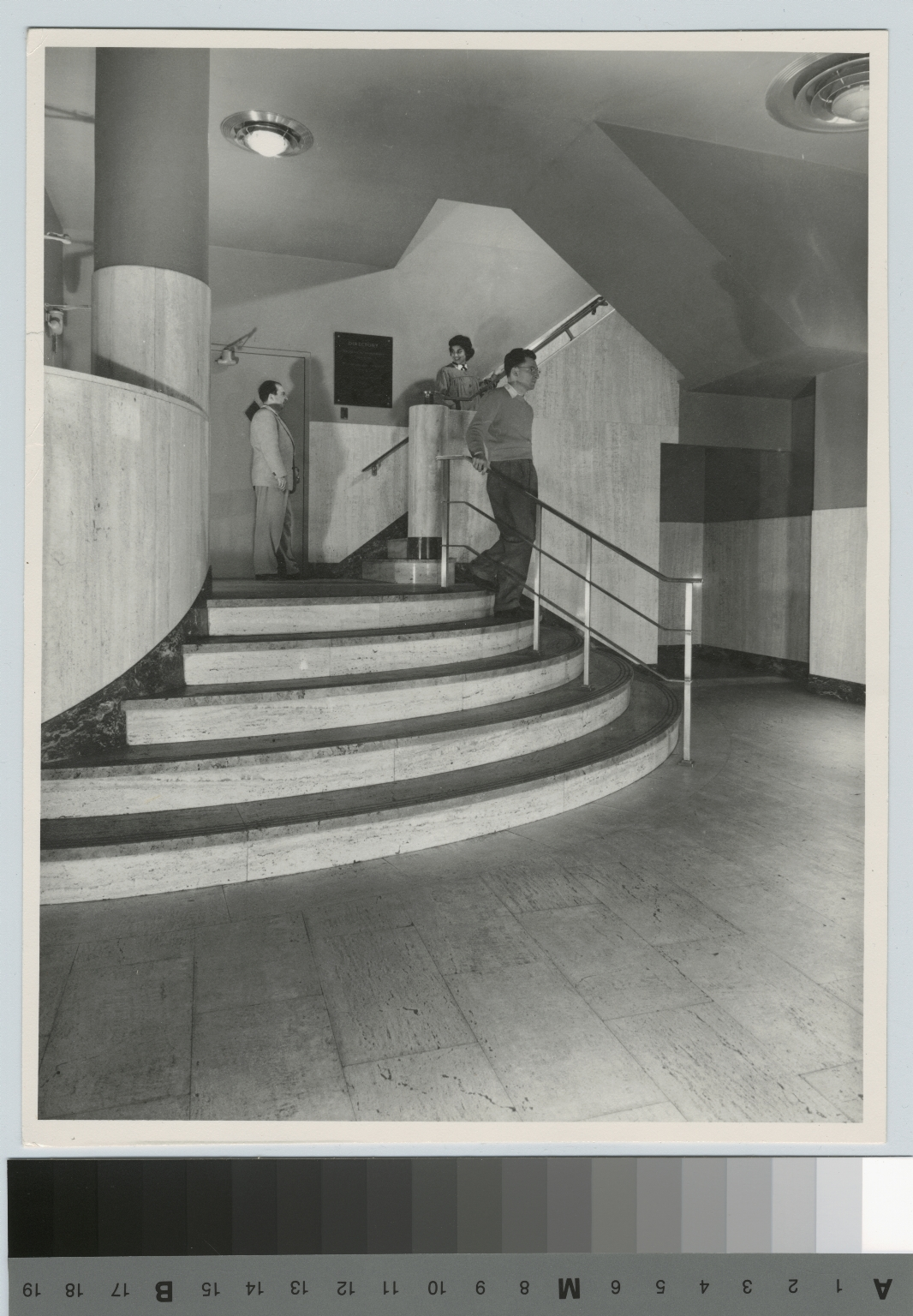 Lobby, George H. Clark Building, Rochester Institute of Technology